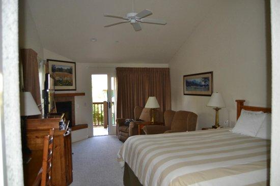 El Pueblo Inn:                   habitación