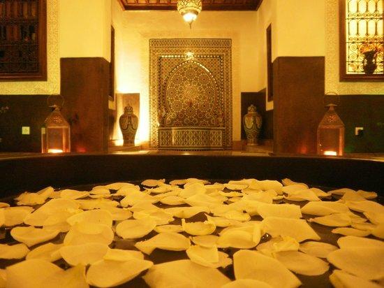 Riad Charme d'Orient:                   patio