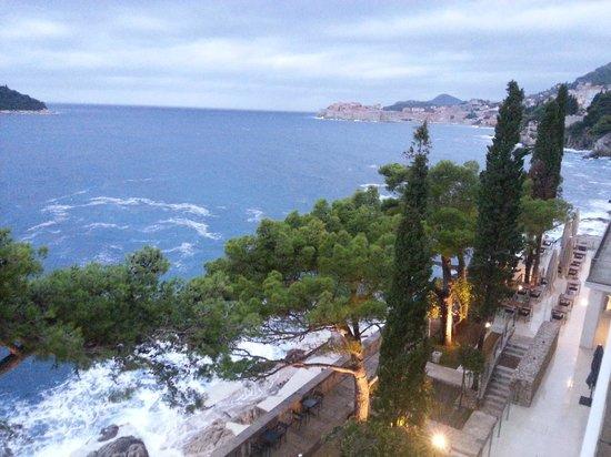 โรงแรมวิลล่าดูโบรฟนิค:                   View from balcony.