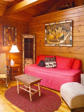 Prospect Point Cottages - Blue Mountain Lake: Rustic elegance defines these quintessential Adirondack cottages.