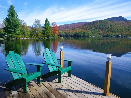 Prospect Point Cottages - Blue Mountain Lake: The perfect place to paint a picture, get lost in a good book, or just take in the splendor.