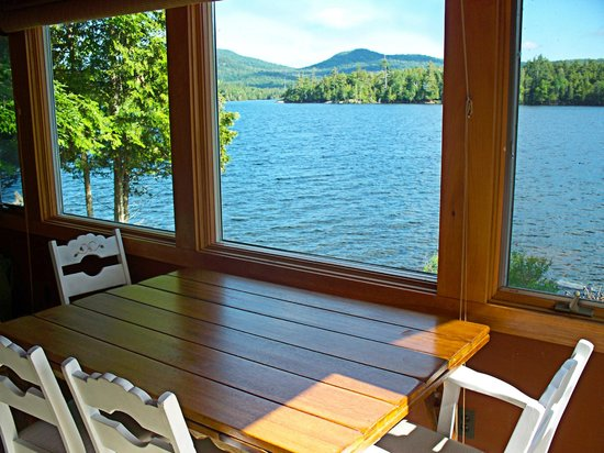 Prospect Point Cottages - Blue Mountain Lake: Incomparable views abound!