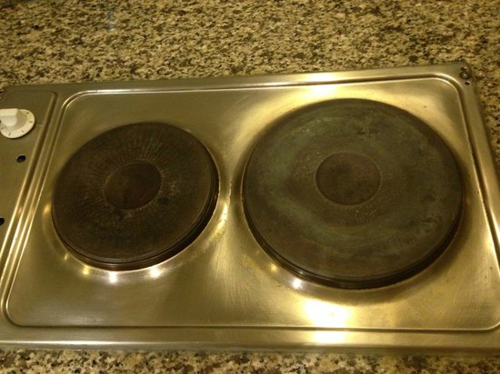 Savoy Park Hotel Apartments:                   Dirty cooker