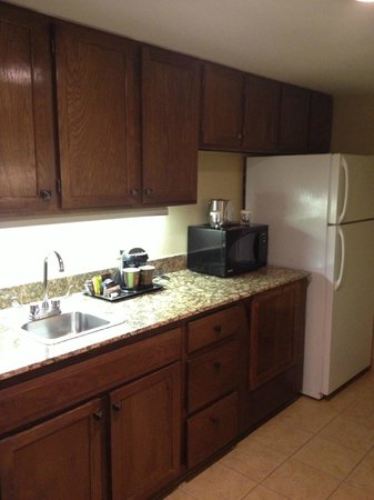 Aksarben Suites Omaha: Kitchenette