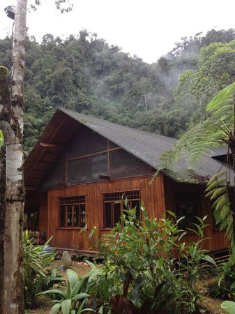 Mindo Garden:                   Main lodge
