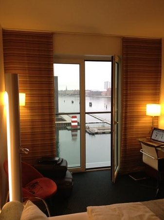 Copenhagen Island Hotel :                   view from superior room