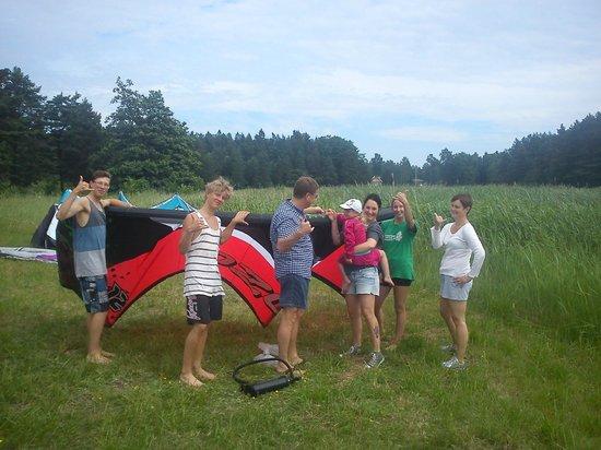 Kitesurfing Center Stockholm: Family fun