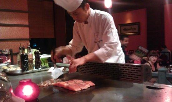 Voyage Belek Golf & Spa:                   Tappenyaki Chef