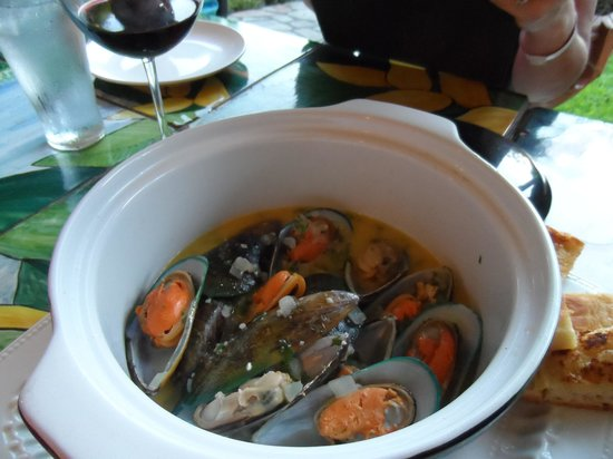 Gingerbread Restaurant: Mussels