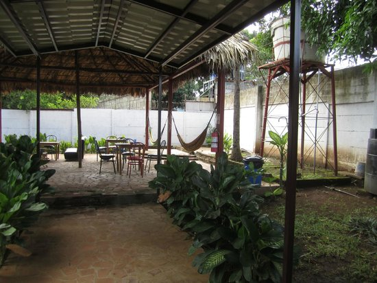 Managua Backpackers Inn:                   There are two buildings for BI, this is the area behind the second building
