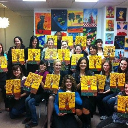 Art Plus Studio: The tree of life painting party