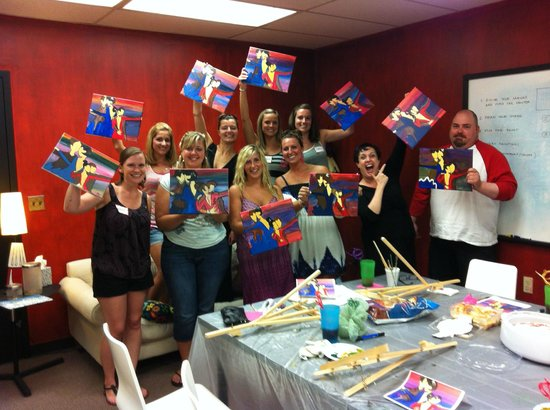 Art Plus Studio: Dance painting party