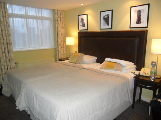 Hallmark Hotel Manchester: Twin Bedroom