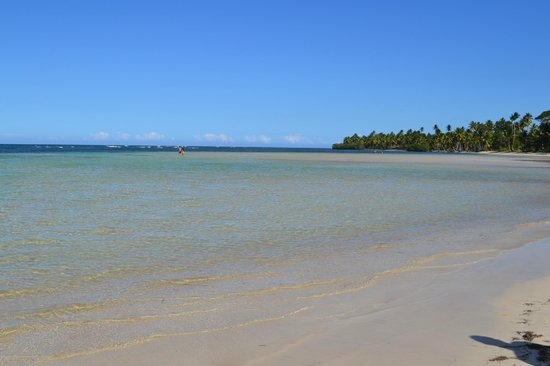 Grand Bahia Principe El Portillo:                   Going right on beach from resort