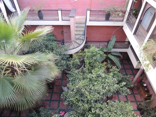 Riad Dar Nejma :                   escalier