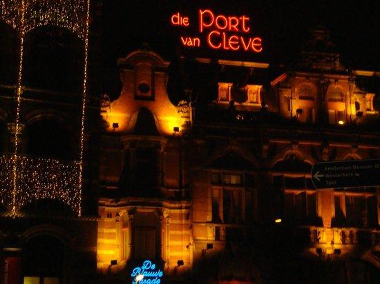 Die Port van Cleve:                   Hotel in pieno centro ad Amsterdam