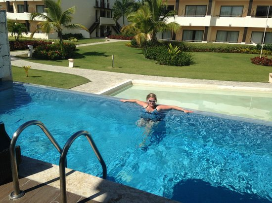 Catalonia Royal Bavaro:                   our private pool                 