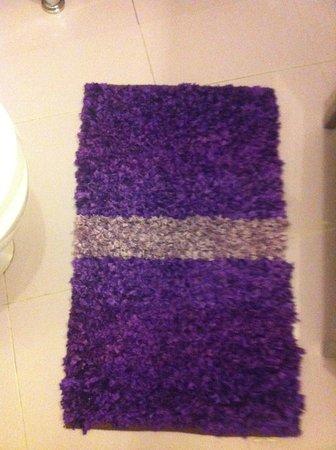 كوينتا ساو ميجول دي أركوس: Purple at the floor