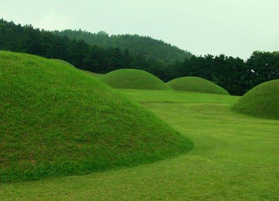 Buyeo-gun South Korea  city photos gallery : ... Picture of Baekje Royal Tombs Neungsan ri Ancient Tombs , Buyeo gun