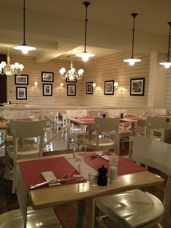 Carlito's Restaurant:                   het interieur
