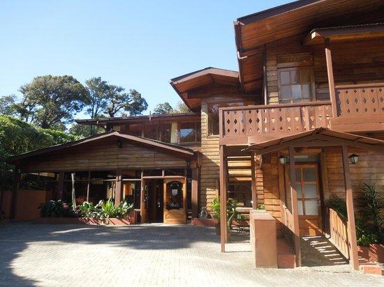 Trapp Family Lodge:                   Main lodge area
