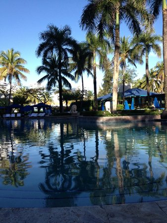 The Ritz-Carlton, San Juan:                   Pool in the Morning - So Lovely!