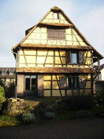 L'accroche Coeur - bed and breakfast: the house