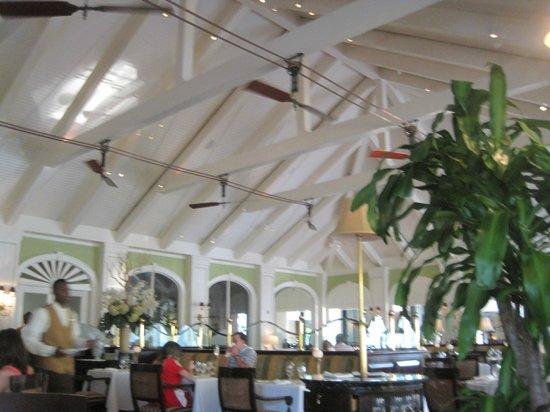 Cafe Martinique:                   Inside the Restaurant