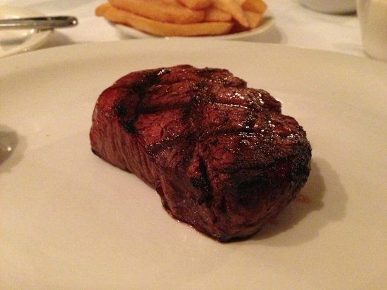 J. Bruner's Restaurant:                   Filet - It speaks for itself!