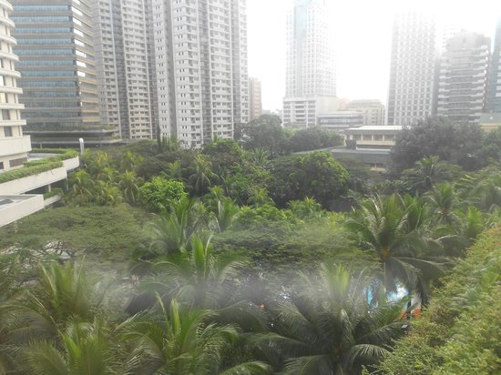 Edsa Shangri-La:                   lush gardens