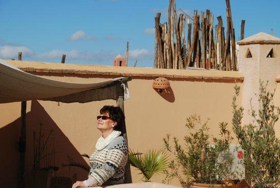 Riad Limouna:                   La terrasse