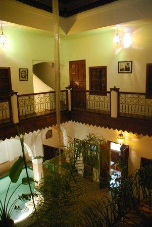 Riad Limouna:                   L'étage
