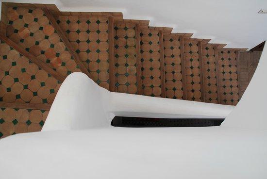 Riad Limouna:                   L'escalier