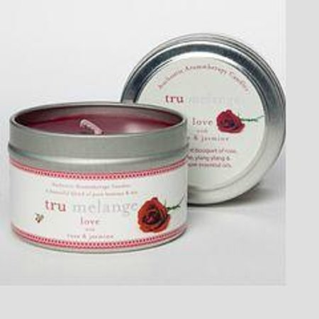 Riviera Wellness Spa: Tru Melange Candles- LOVE scent