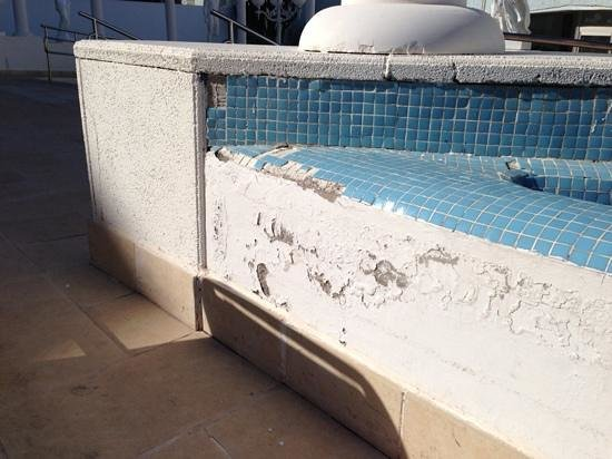 Mediterranean Palace Hotel:                   Luxurious pool area?
