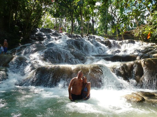 Couples Tower Isle: Dunn's River Falls