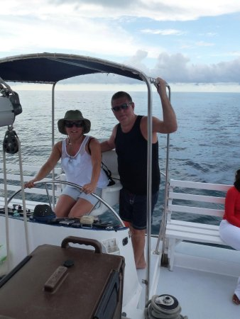 Couples Tower Isle: Free hotel catamaran cruise