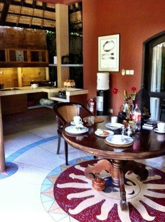 The Villas Bali Hotel & Spa:                                     Kitchen Area