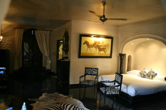 La Sultana Marrakech: Partial view of the zebre room