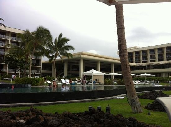 Hawaii Calls Restaurant & Lounge:                                     Skip the restaurant and order from the pool in your swimsuit