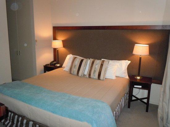 Peppers Bluewater Resort: Dormitorio (en el primer piso del dpto)