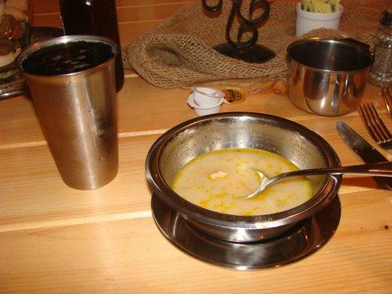 Beggar's Banquet:                   Yummy halibut chowder.