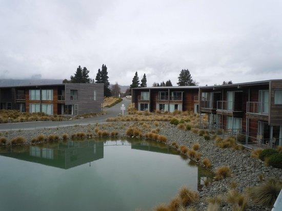Peppers Bluewater Resort: Vista desde mi habitación, por la mañana