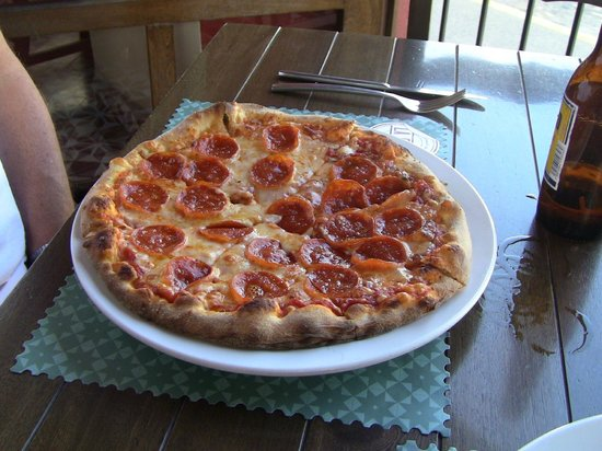 La Posta: Lunch special - pizza