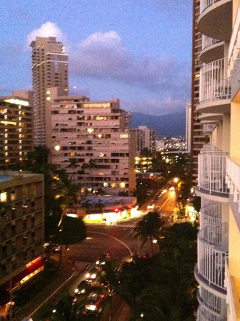 The Modern Honolulu:                                     1 brdm Ocean Front Suite - 2nd balcony view