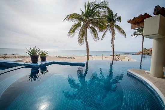Westin Resort & Spa Los Cabos:                   the view over one pool towards town