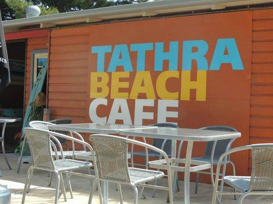 Tathra Beach Tapas:                   the outdoor seating