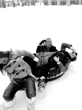 Montage Deer Valley:                   When's the last time you had a belly laugh like this?  Tubing hill at the Mont
