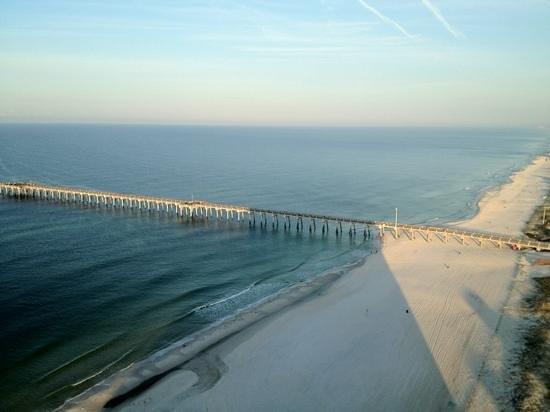 Calypso Resort & Towers:                   view of pier!
