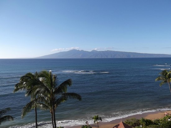 Valley Isle Resort:                   View from Lanai